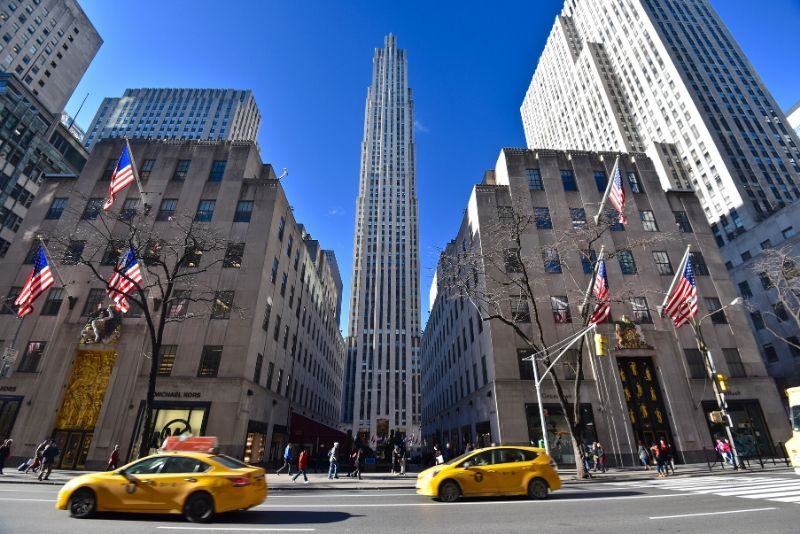 Rockefeller Centre New York TV & movie tours