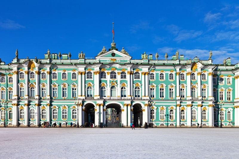 Saint Petersburg Hermitage Museum opening hours