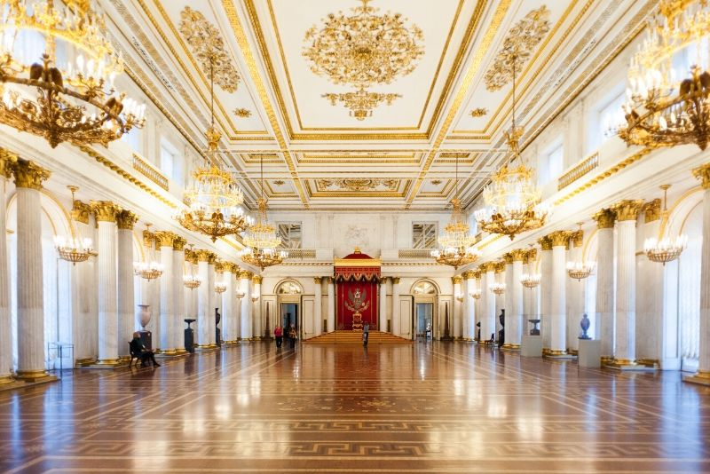 Saint Petersburg Hermitage Museum tickets price
