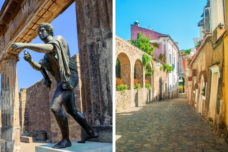 Semi-Private Pompeii, Positano & Amalfi Coast Tour from Rome