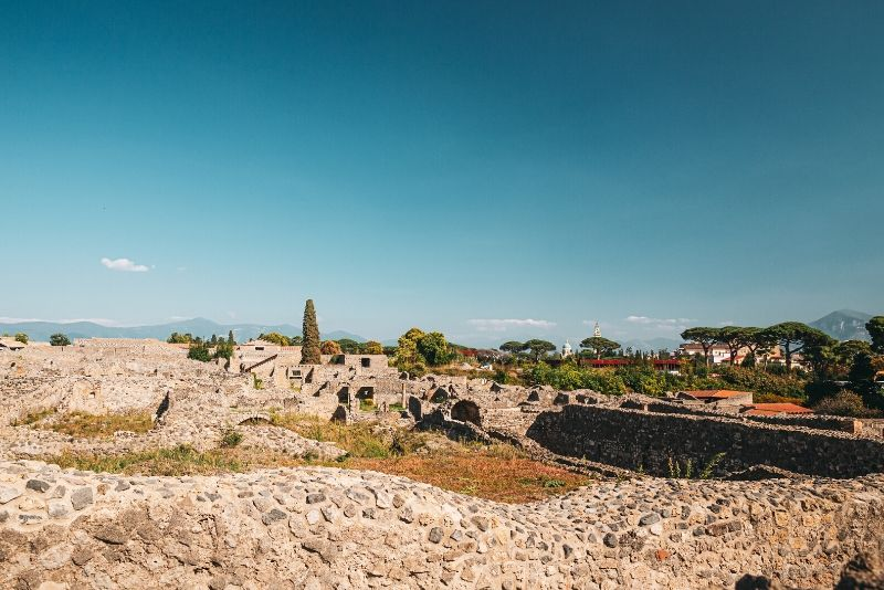 Shared Shore Excursion from Salerno to Pompeii Ruins
