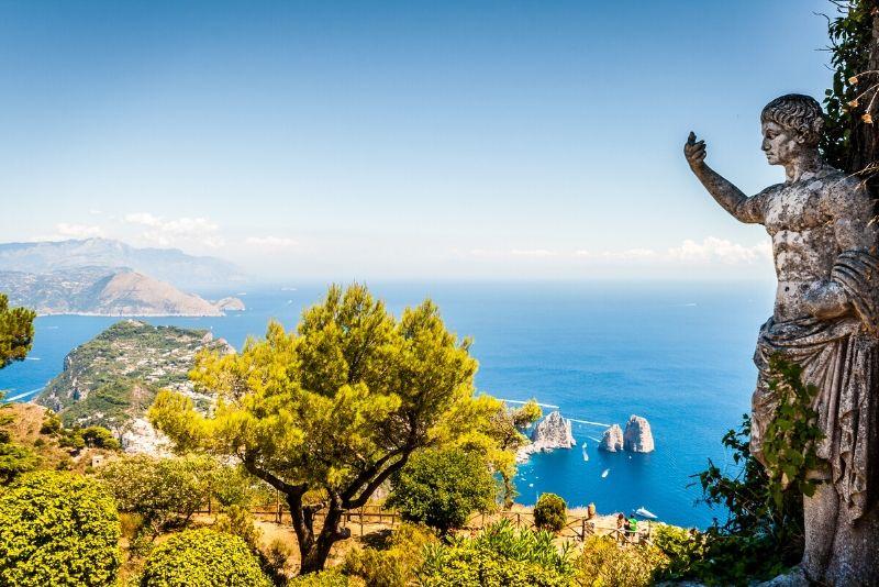 Capri-Kreuzfahrt in kleinen Gruppen von der Amalfiküste
