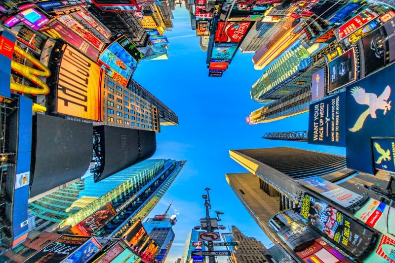 Times Square New York TV & movie tours