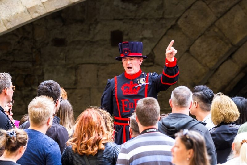 Tower of London guided tours