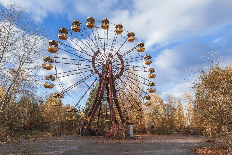 parc d'attractions à Tchernobyl