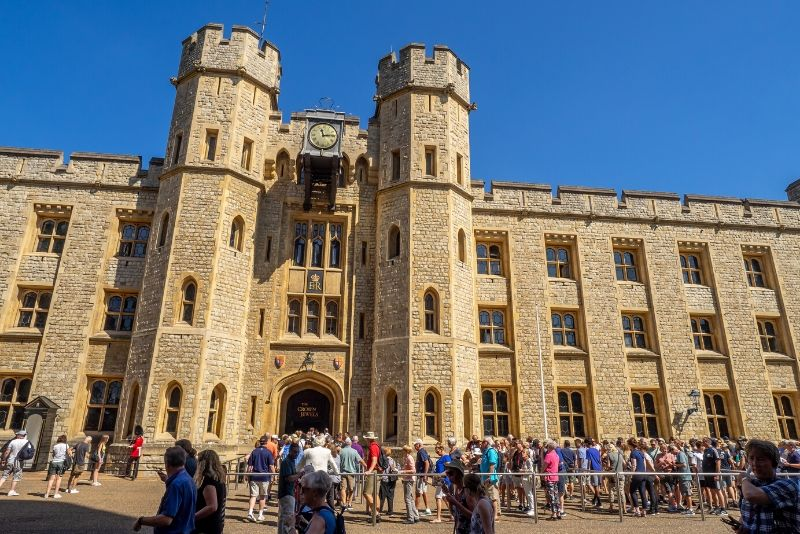 skip the line at the Tower of London