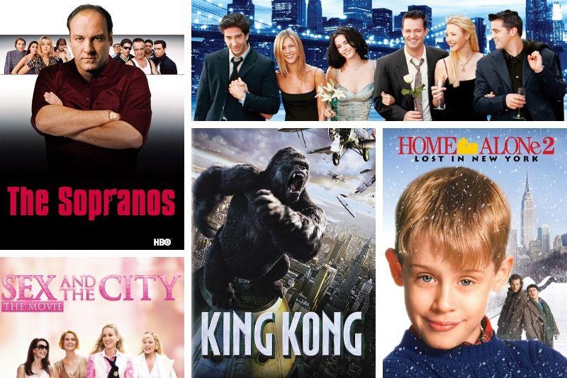 types of New York TV & movie sites tours