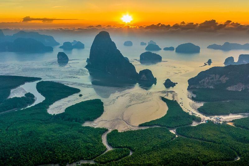 Parque Nacional Ao Phang Nga, Tailandia - los mejores parques nacionales del mundo