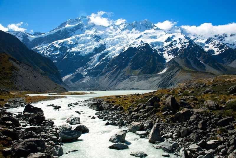 Aoraki Mount Cook National Park, New Zealand - best national parks in the world