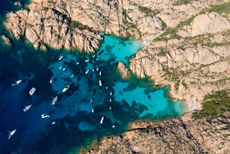 Arcipelago di La Maddalena National Park, Italy - best national parks in the world
