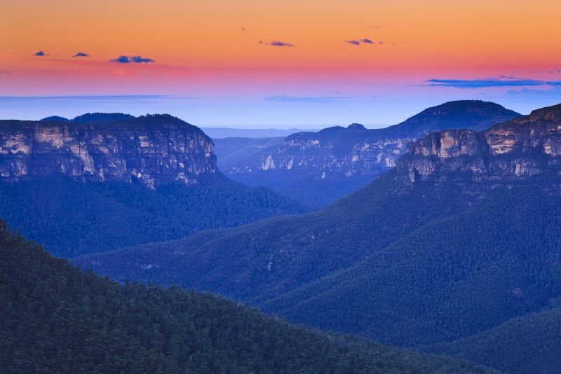 Blue Mountains National Park, Australia - best national parks in the world