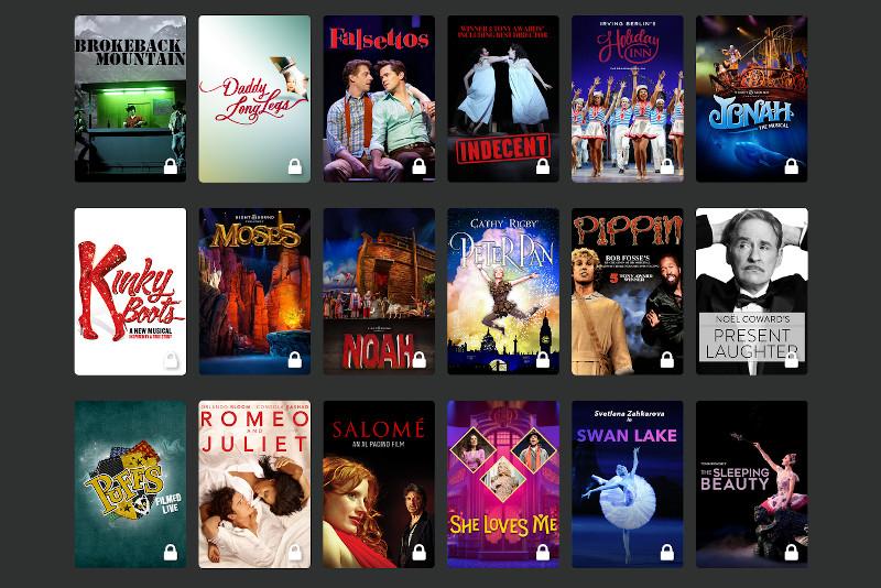 Broadway musicals & plays