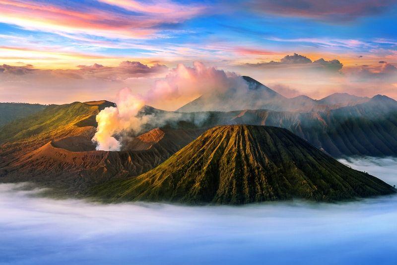 Parque Nacional Bromo Tengger Semeru, Indonesia - los mejores parques nacionales del mundo