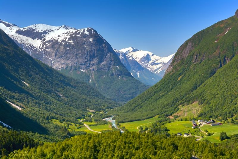 Jostedalsbreen National Park, Norway - best national parks in the world