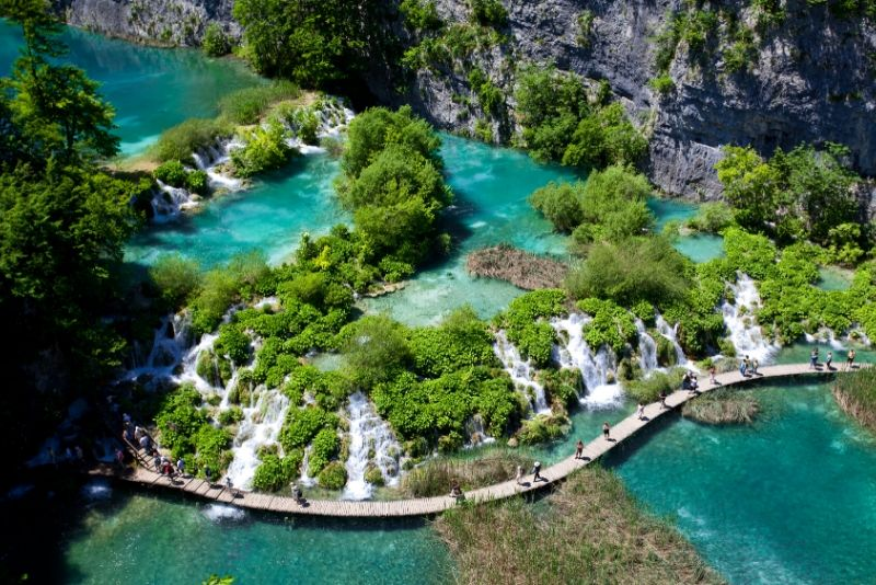 Plitvice Lakes National Park, Croatia - best national parks in the world