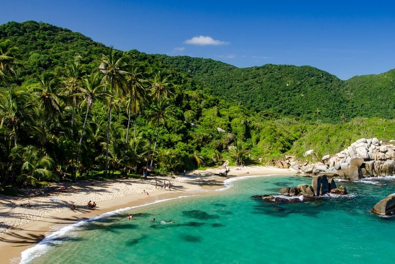 Tayrona National Park, Columbia - best national parks in the world