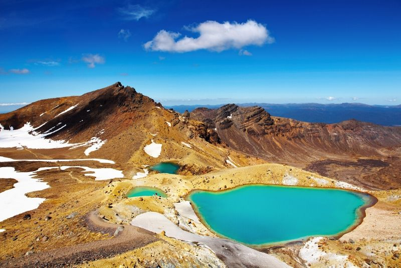 Tongariro National Park, New Zealand - best national parks in the world