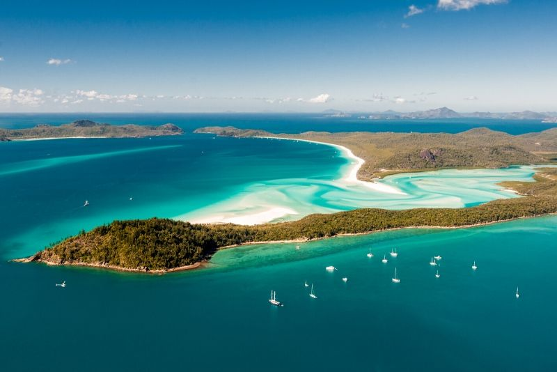 Whitsunday Islands National Park, Australia - best national parks in the world