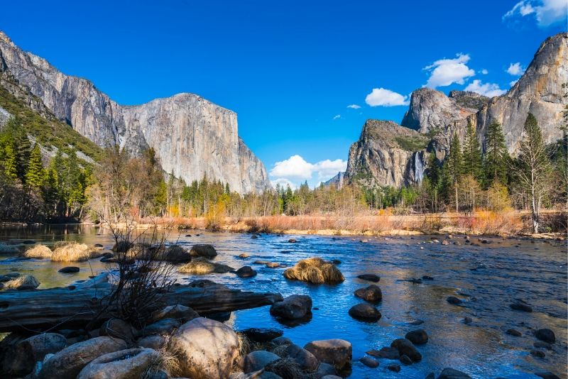 Yosemite National Park, United States of America - best national parks in the world