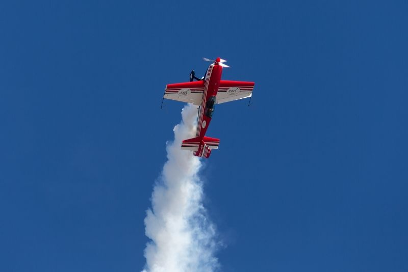 aerobatics flight