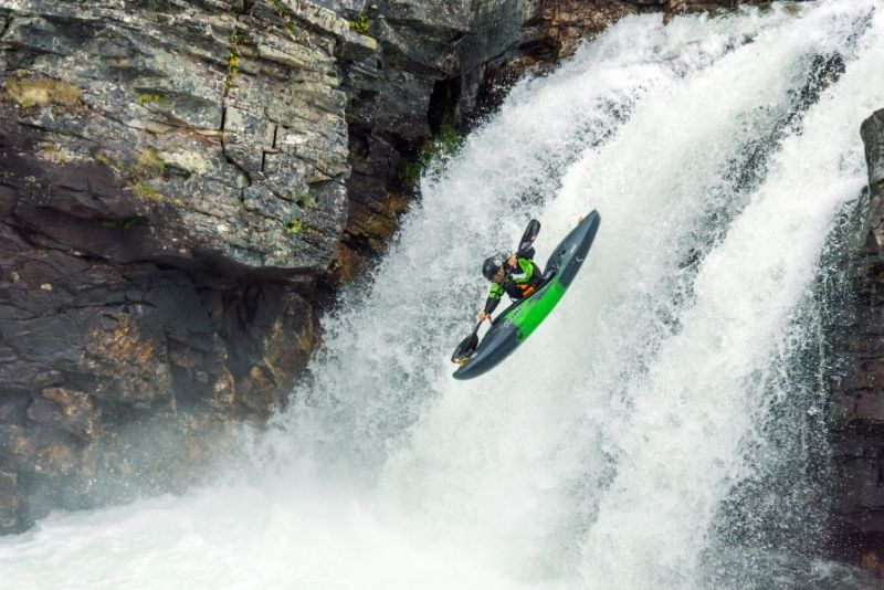 kayak estremo