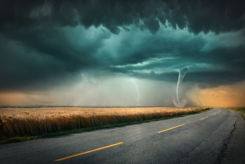 storm chasing