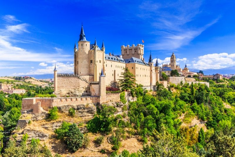 Alcázar of Segovia, Spain - best castles in Europe