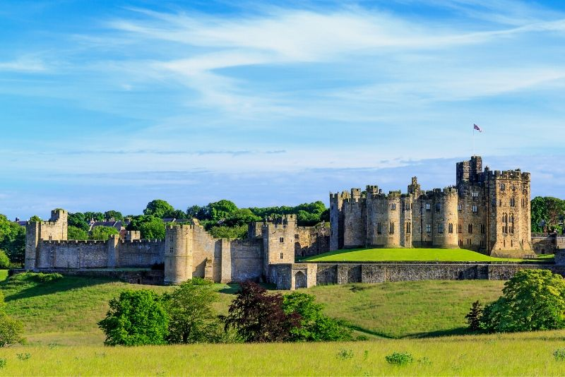 Alnwick Castle, England - best castles in Europe