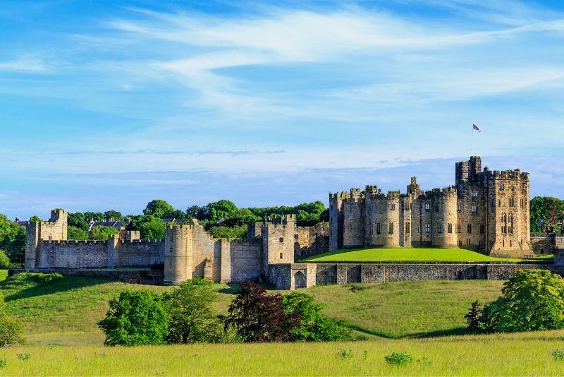 Alnwick Castle, England - best castles in Europe