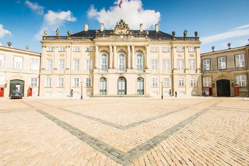 Amalienborg Palace, Denmark - best castles in Europe