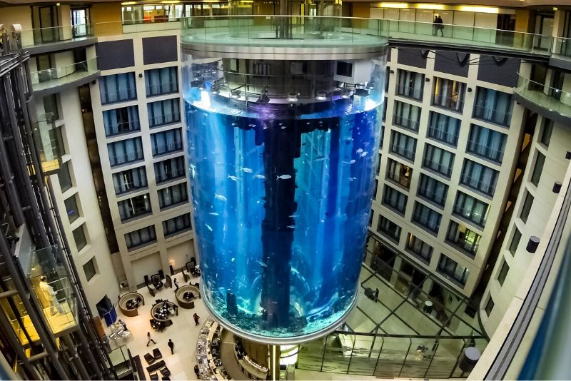 AquaDom Sea Life, Germany - #13 best aquariums in the world