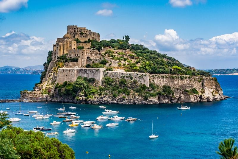 Aragonese Castle, Italy - best castles in Europe