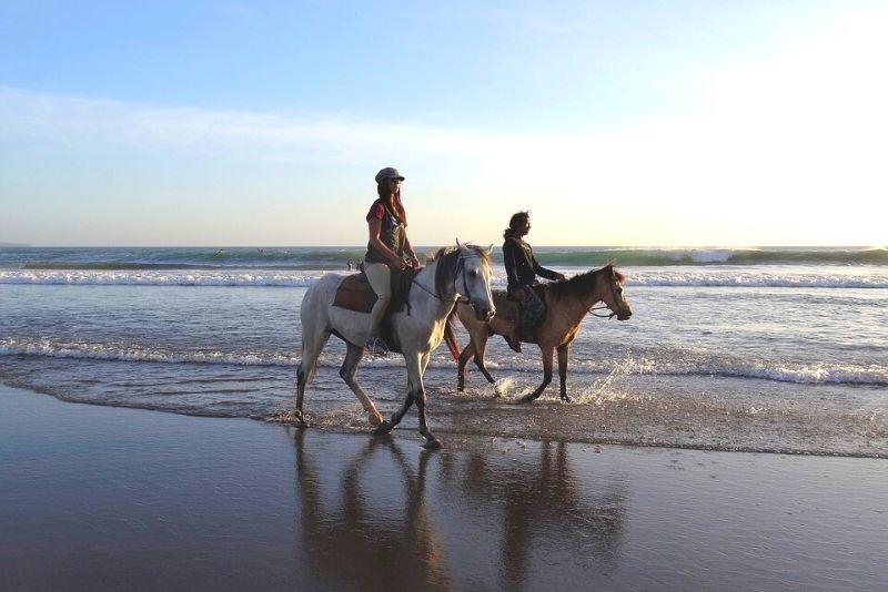 Choses à faire en Belgique #20 Balade à cheval sur les plages belges