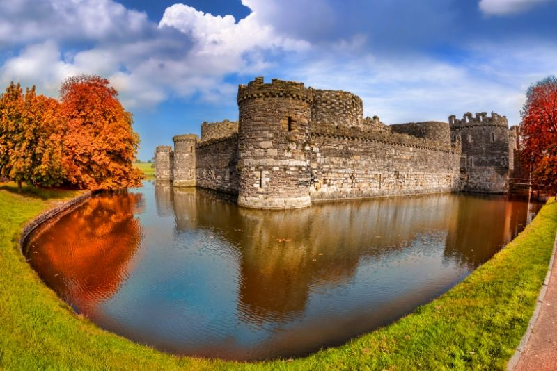 Beaumaris Castle, Wales - best castles in Europe