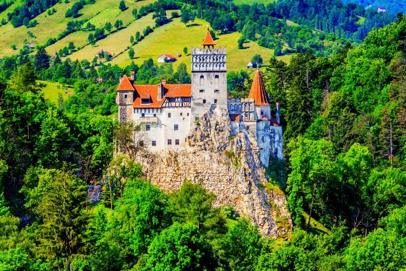 Bran Castle, Romania - best castles in Europe