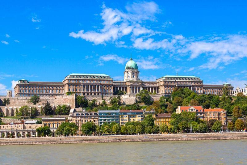 Buda Castle, Hungary - best castles in Europe
