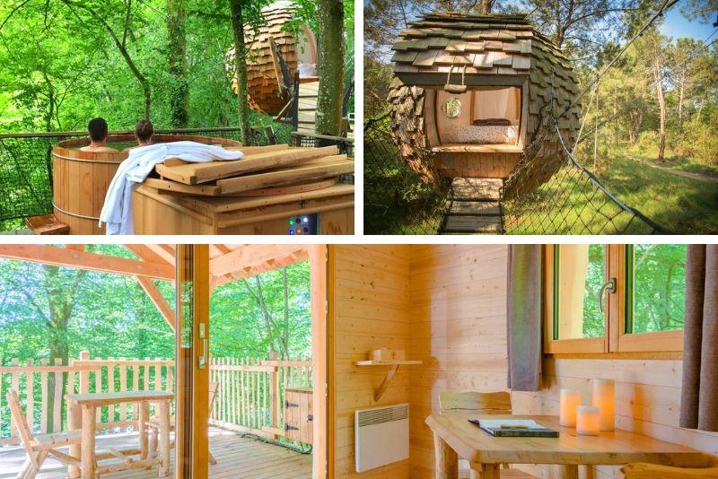 Passez un séjour hors du temps dans ces cabanes dans les arbres- #35 Hébergements insolites en France
