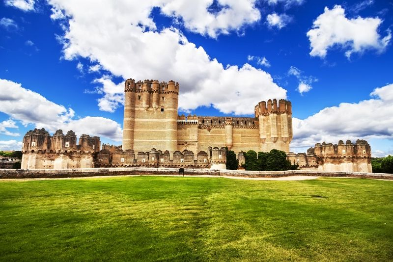 Castillo de Coca, Spain - best castles in Europe
