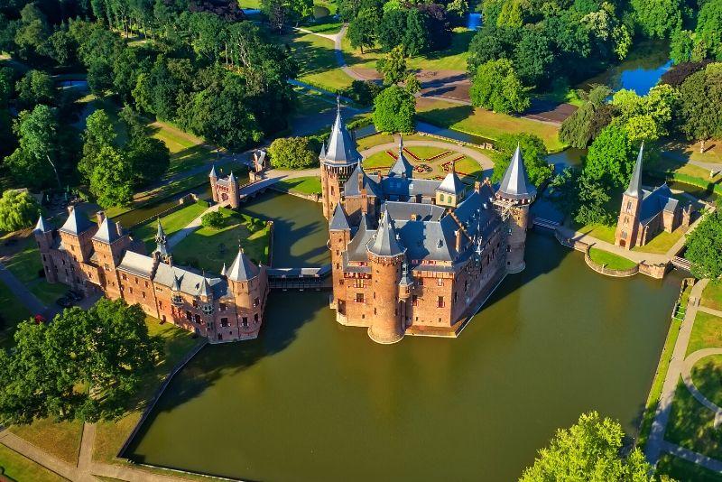 Castle De Haar, Netherlands - best castles in Europe