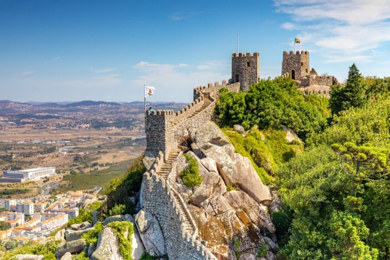 Castle of the Moors, Portugal - best castles in Europe