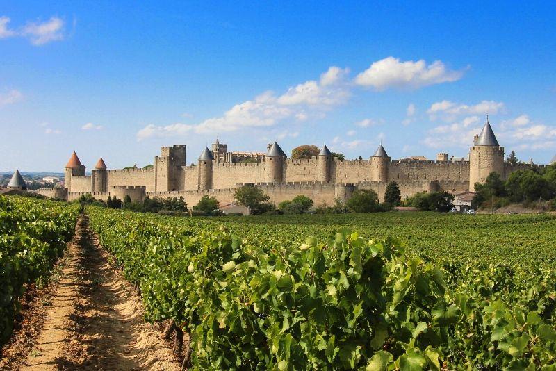 Château Comtal de Carcassonne, France