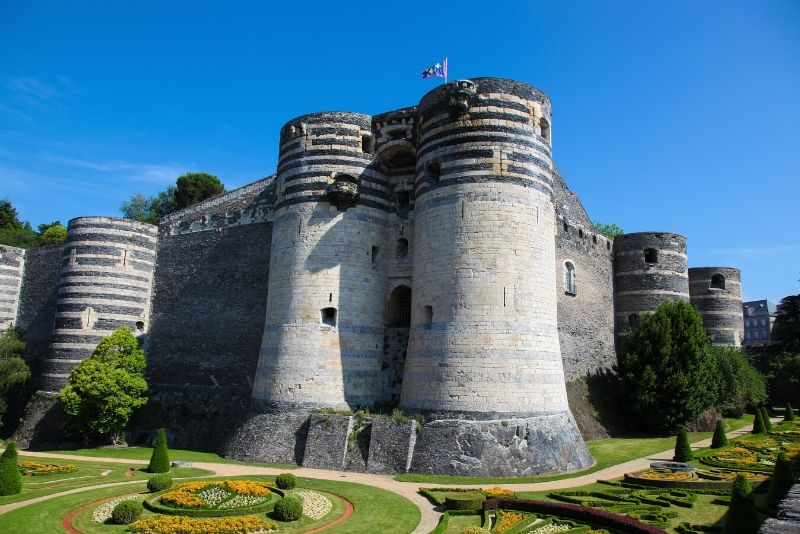 Château d'Angers, France - best castles in Europe