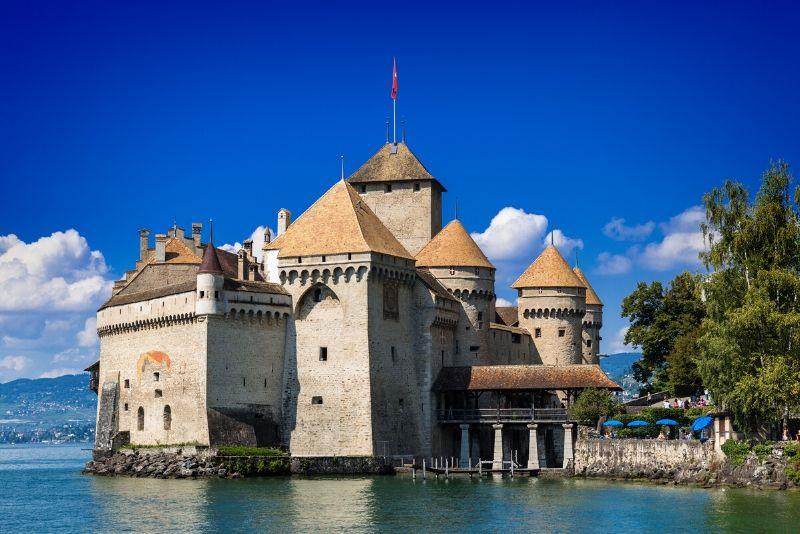 Château de Chillon, Switzerland - best castles in Europe