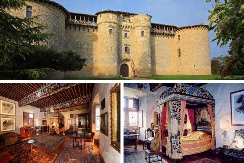 Remontez dans le temps lors d'une nuit dans le château de Mauriac- #9 Hébergements insolites en France