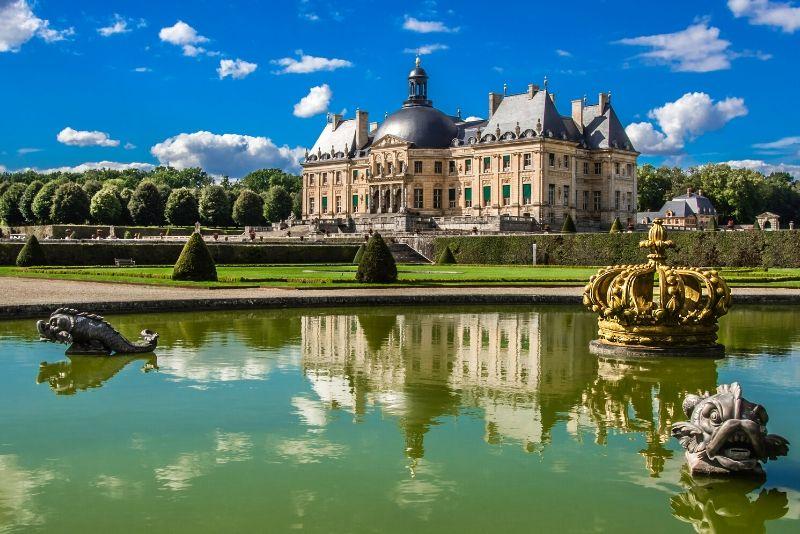 Château de Vaux le Vicomte, France - best castles in Europe