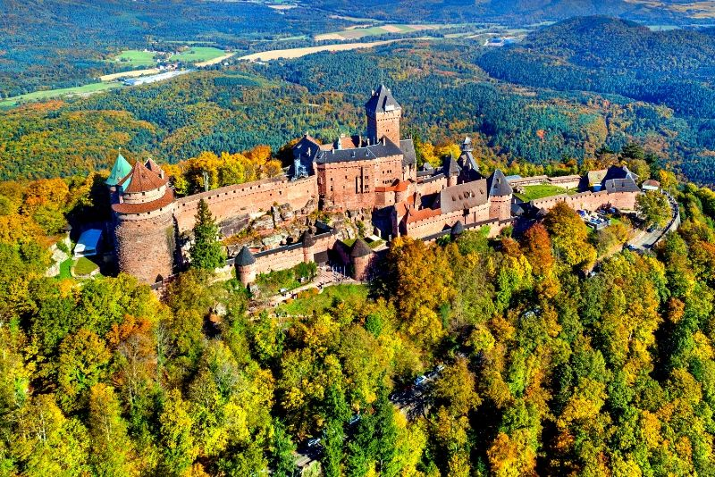Château du Haut-Kœnigsbourg, France - best castles in Europe