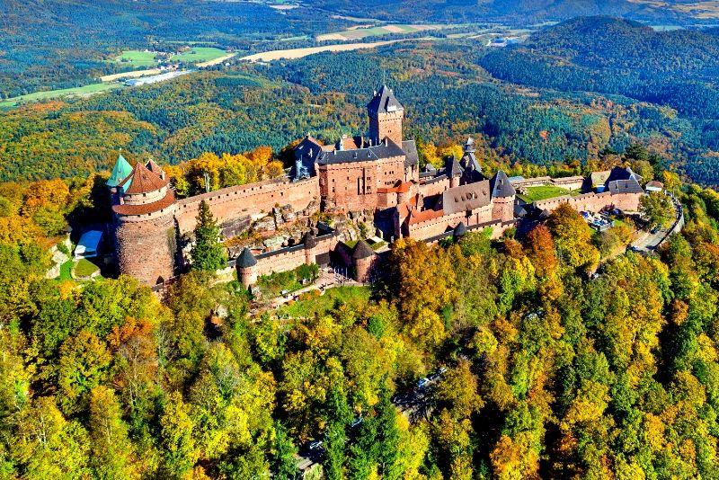 Château du Haut-Kœnigsbourg, France - best castles in Europe