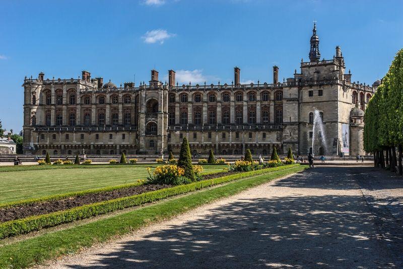 Le château de Saint-Germin-En-Laye