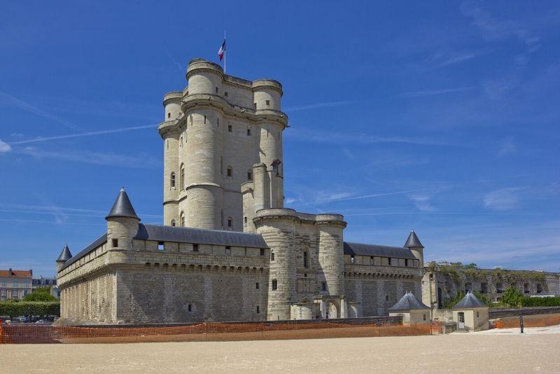 Sorties autour de Paris au château de Vincennes