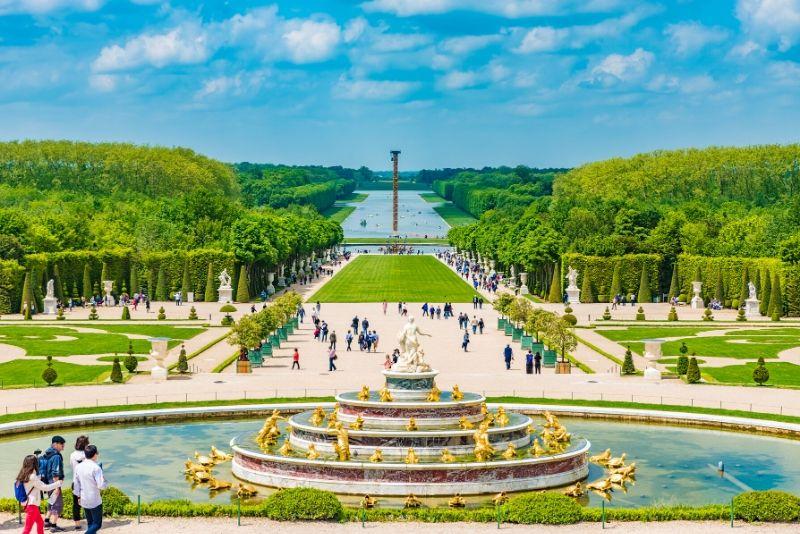 Sorties autour de Paris au château de Versailles